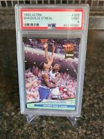 1992 Fleer Ultra Shaquille O'neal RC #328 PSA 9