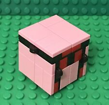 Lego New Fidget Infinity Magic Folding Cube / Bright Pink / Packet Size Play Toy