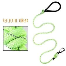 Rope Dog Leash Premium Climber 6 Feet Long with Reflective Stitching Heavy Duty