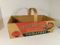 Vintage Bunker Hill Greenhouses, Median, Ohio Tomato Basket