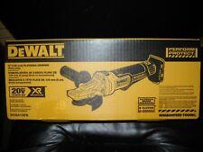 """DEWALT DCG413FB 5"""" 20V Max Flathead Interruptor de paleta Amoladora de ángulo con freno de NUEVO"""