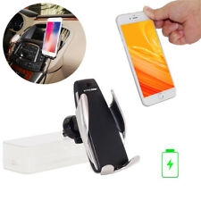 Automatic Clamping Wireless Fast Charger Charging Phone Holder For Iphone Huawei
