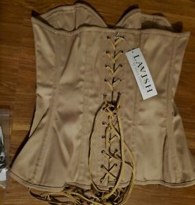 BRAND NEW Lavish By Daisy Corsets ~Beige Large ~other sizes available~Underbust