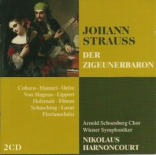 JOHANN STRAUSS DER ZIGEUNERBARON - 2 CD BOX SET, THE TELDEC OPERA COLLECTION