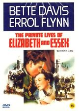 The Private Lives of Elizabeth and Essex (1939) DVD (Sealed) ~ Bette Davis