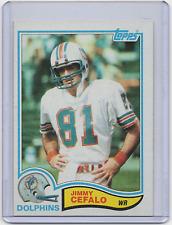 1982 Topps #128 - JIMMY CEFALO