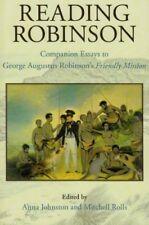 Reading Robinson, Very Good Books