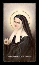 """santino-holy card""""""""ediz. NB serie C n.741 S.BERNADETTE SOUBIROUS"""