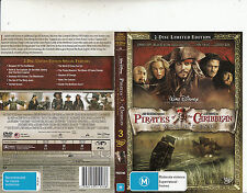 Pirates of The Caribbean:At Worlds End-Johnny Depp-[2 Disc LTD ED]-Movie-DVD