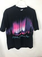 Vintage HABITAT Wolf Wolves Let Heaven and Nature Sing Single Stitched XL