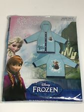 Disney Frozen Rain Slicker Size Medium//Large Fits Ages 6-8