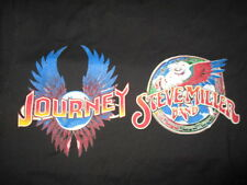 2014 STEVE MILLER BAND and JOURNEY CREW Concert Tour (SM) T-Shirt TOWER OF POWER