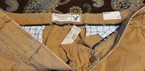 New American Eagle Standard Classic Length Relaxed Fit Vintage Wash Shorts Sz 48