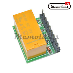 Mini DC 12V DPDT Relay Module Reverse Polarity Switch Board Motor For Arduino