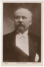 1915 FRANCE PRESIDENT Raymond Poincare FRENCH RPPC Real Photo Postcard POLITICAL