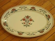 """Scammell's Trenton China  (RARE 15"""" POPPY PLATTER) Rochester Country Club 1928"""