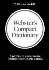 Webster's Compact Dictionary Merriam-Webster Hardcover