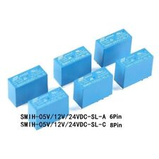 5//20//50pcs Songle  SRS-05VDC-SL 4100 5V blue  a group of 6 feet 6pin