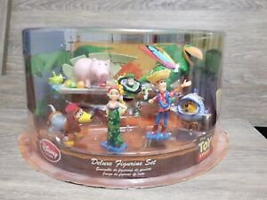 Rare DISNEY STORE Toy Story HAWAIIAN Vacation ALOHA Figurine Set PVC FIGURES 9PC