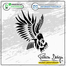 """Stickers Adesivo """"Aquila Tribale"""" Personaliz. misura e colore auto, moto, casco"""