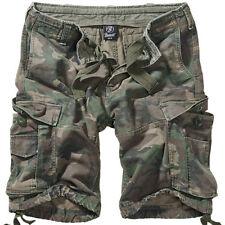 Shorts e bermuda da uomo mimetico regolare in cotone