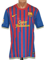 BARCELONA SPAIN 2011/2012 HOME FOOTBALL SHIRT JERSEY NIKE SIZE M ADULT