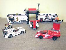 Lego Speed Champions Porsche 919 Hybrid & 917K Pit Lane (75876); 100% Complete