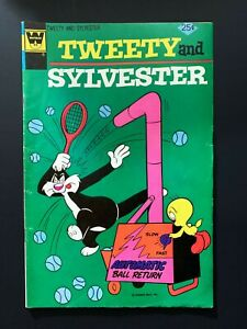 TWEETY AND SYLVESTER #51 WHITMAN COMICS 1975 VF-