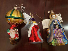 Polonaise Ornaments Lot Of 3