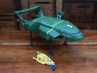 Thunderbirds Are Go Supersize Thunderbird 2 and 4 w/ Mini Figures - Complete (D)