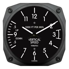 New TRINTEC VSI Vertical Speed Instrument Style Wall Clock 9068VSI