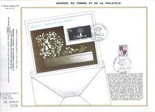 FEUILLET PHILATELIQUE   JOURNEE DU TIMBRE ET DE LA PHILATELIE  1980