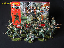 Airfix 1/32 painted Australian Infantry x 14 boxed WW2. professionally painted.
