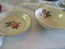 Pair Federal Shape Syracuse Rosalie Serving Bowls
