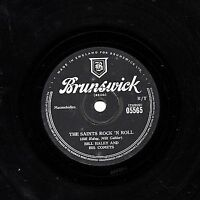 CLASSIC BILL HALEY UK 78 THE SAINTS ROCK 'N ROLL/ R-O-C-K  BRUNSWICK 05565 E-/V+