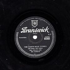 CLASSIC BILL HALEY UK 78 THE SAINTS ROCK 'N ROLL/ R-O-C-K  BRUNSWICK 05565 E-/V+