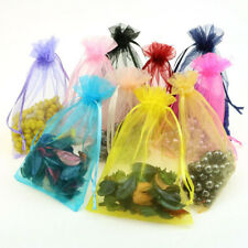 """20pcs 5""""x7"""" 13x18cm Organza Wedding Party Favor Gift Candy Bags Jewelry Pouches"""