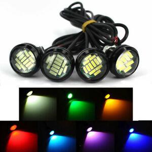 10Pcs 4014 SMD Reversing Rear Side Light Bulb Auto Reverse Daytime DRL Eagle Eye