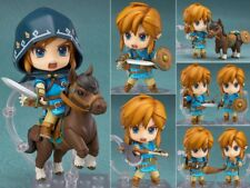 Anime Nendoroid Figure Jouets Link The Legend of Zelda with Horse Figurine 10cm