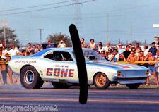 """""""Color Me Gone"""" Roger Lindamood 1970 Dodge Challenger NITRO Funny Car PHOTO!"""
