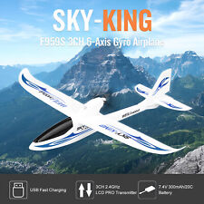 WLtoys F959S RC Airplane Fixed-wing SKY-King 2.4G 3CH 6-Axis Gyro Segelflugzeug