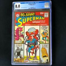 80 PAGE GIANT #6 (DC 1965) 💥 CGC 8.0 OW-W 💥 SUPERMAN Eighty Pg Comic