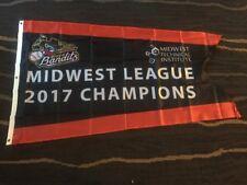 Quad Cities River Bandits Midwest League 2017 Champions Flag SGA Houston Astros