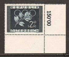 Austria Sc B277 MNH. 1952 Summer Olympics, XF