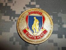 US Army 4th Basic Combat Training Brigade TRADOC Fort Jackson Challenge Coin #1