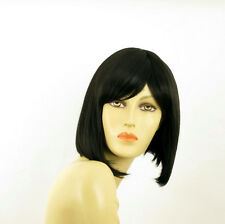 Perruque femme courte brun foncé BRENDA 2