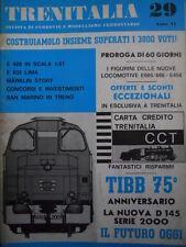 Trenitalia n°29 1983 E 428 in scala 1:87 - Marklin Story - E 633 LIMA