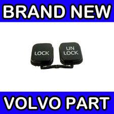 VOLVO S40 / V40 KEY FOB CASE BUTTON SET (BLACK)