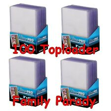 Lot 100 Toploader Ultra Pro Premium Protection Rigide Cartes POKEMON MTG YuGiOh