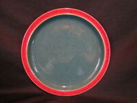 Denby HARLEQUIN - Dinner Plate Red and Green - BRAND NEW